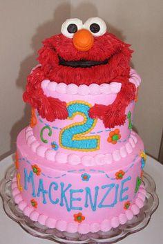 girls Elmo cake