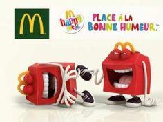 Chez Mc Do le menu spécial pour les enfants c'est le Happy Meal, découvrez sa composition et son jouet du moment.