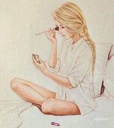 PUSH and choose ...Amazingly beautiful girls drawn by talented illustrators.