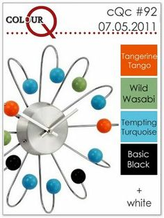 Tangerine Tango, Wild Wasabi, Tempting Turquoise, Basic Black, Whisper White