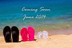Our Pregnancy Announcement.  Picture taken in Maui, Hawaii (Beach, Flip Flops, Ocean)