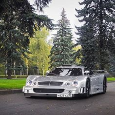 The ultra rare #Mercedesbenz #CLK #GTR seen in Russia. Not your average supercar Edited by @ivanorlov