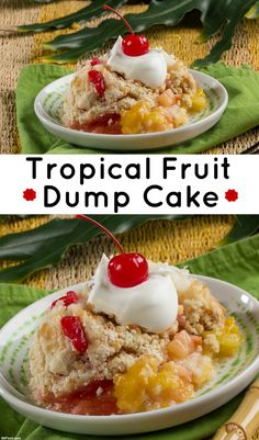 If you crave tropical fruit flavors, then you'll love this easy dump cake recipe.