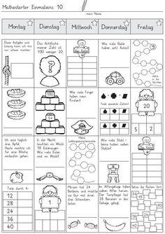 material-intern - Zaubereinmaleins - DesignBlog  #designblog #intern #material #zaubereinmaleins Teaching Kids, Kids Learning, Spiral Math, Primary Maths, Math Numbers, Math For Kids, Math Lessons, Math Activities, Mathematics