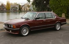 1984 BMW 745i Turbo For Sale Side