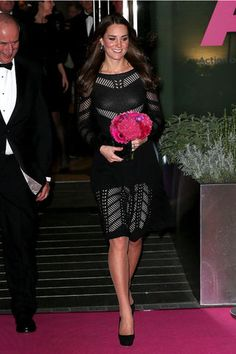 October 23, 2014 - Kate Middleton at charity gala dinner in London