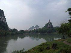 In Guilin, Guangxi.