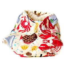 Little bamboo shoots - cute cloth nappies!