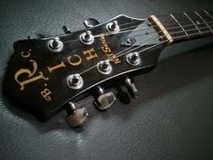 Wts: Vintage discontinued bc rich n.j series classic eagle electric guitar - black