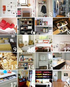 20 weekend organizational projects for every room!