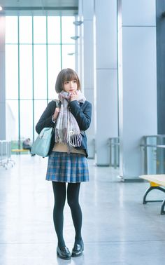 Check out these Japanes theme cosplay characters. Cute Asian Girls, Cute Girls, Student Fashion, Kids Fashion, Japanese School Uniform, Girls Uniforms, Cute Japanese, Japan Girl, Kawaii Girl