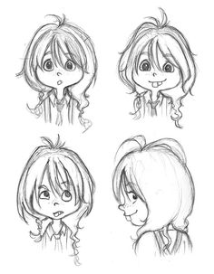 S sketchcan: intro to character design week 5 homework Drawing Cartoon Faces, Cartoon Art, Cute Drawings, Character Design Animation, Character Design References, Kid Character, Character Drawing, Comics Anime, Children's Book Illustration