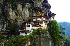 Монастырь Гнездо Тигра В Бутане