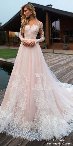 0b5e44ad8fca Florence Wedding Dresses 2019 #wedding #weddings #weddingideas  #deerpearlflowers #bridaldresses Flower Wedding