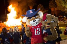 Meet the love of your life at the UA? In class? On the Mall? At a Wildcats football game? Tell us your story.