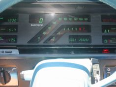 A Look Back at Some Early GM Digital Dashboards