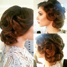 The most detailed updo and flawless.  Ivana for @nicolerichardsmua  #bridalupdo #bridalhairstylist #weddinghair #isntshelovely #whitbymakeupartist #torontomakeupartist #durhamregionbride #downtownwhitby #makeupstudio