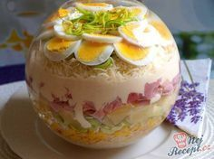 China-Schichtsalat - The Best Of List Orzo Salad Recipes, Easy Pasta Salad, Main Food Groups, Low Carb Recipes, Cooking Recipes, G 1, Food Presentation, Diy Food, Brunch