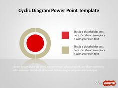 Cyclic Diagram Template for PowerPoint is a free presentation template with cyclic diagrams that you can download to prepare awesome presentations