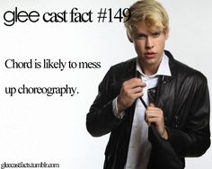 Chord Overstreet - Sam Evans - Glee - Gleek