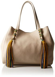 Steve Madden Bkyra Tote Bag, Taupe, One Size ** Additional details @ http://www.passion-4fashion.com/handbags/steve-madden-bkyra-tote-bag-taupe-one-size/?xy=120716154840