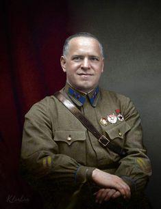 Marshal Georgy Zhukov (1896-1974).
