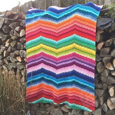 Free pattern crochet bargello blanket. Dutch and English     https://www.facebook.com/jellinacreations.nl/?ref=hl