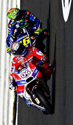 Motogp Fanpage, The Blog  Andrea Dovizioso and Valentino Rossi.