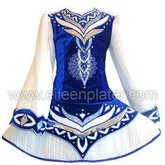 Eileen Plater Irish Dance Costumes Ltd: I like the design, but lose the skirt board!