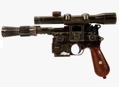 Star Wars The Force Awakens - Han Solo Blaster