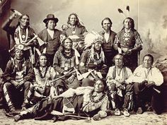 Ten Ponca chiefs, along with their two interpreters, were photographed during a visit to Washington, D.C., in November 1877. Chief Standing Bear is seated ...chief standing bearquotes - Google Search