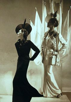 Schiaparelli - Double The Trouble Double The Fun, Classic, Fashion, Women, Stylish, Timeless, Gloves, Boss, Live, Black and White