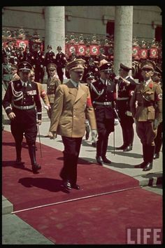 Nazi germany color photos | Nazi Germany - Color Photos from LIFE archive World History, World War Two, Revista Life, Luftwaffe, Berlin, Germany Ww2, Historia Universal, The Third Reich, German Army
