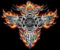 firefighter iron cross