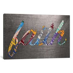 "Latitude Run Faith Textual Art on Wrapped Canvas Size: 8"" H x 12"" W x 0.75"" D"