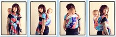 Taiwanese Back Carry  {from Babywearing 102: Wrapping 360 Project}   ***long wrap carry