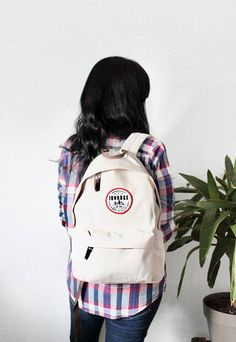 Your place to buy and sell all things handmade Cream Backpacks, North Wales, Trending Outfits, Purpose, Contrast, Plush, Velvet, Logo, Studio