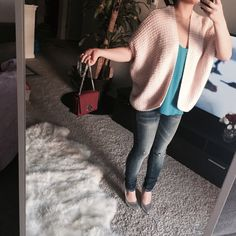Pink cozy knit cardigan In excellent condition as I hardly wear my clothes  very clean and no little knots or anything, as new. It's light pink, American Eagle Outfitters Sweaters Cardigans