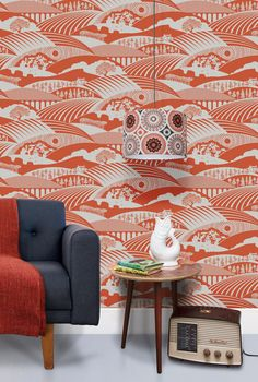 Moordale (the distance between us) wallpaper is the latest release from our Saturday Night/Sunday Morning collection - and features the North Yorkshire Moors and Yorkshire Dales, where Mark and Kei...