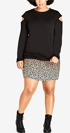 Plus Size Street Vibe Sweatshirt