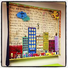 """""""Little kids in a big city.""""Benjamin did a collaboration with his 5 year old daughter Isabella for the child therapy room at The Wellness Studio in Baton Rouge, La."""