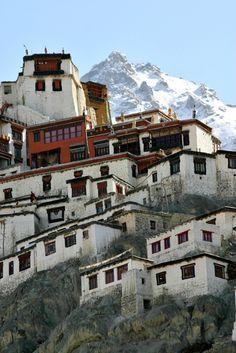 Buddhist Monastery in Kashmir