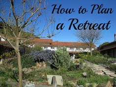 How to Plan a Retreat- a series of retreat planning blog posts on Jump Start Your Joy