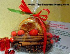Inexpensive Gift Idea: CHRISTMAS SCENT SimmeringPotpourri