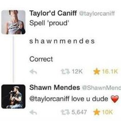 To me theres nothing better than seeing them support each other