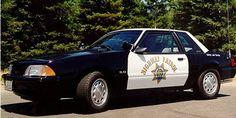California Highway Patrol - 1993 CHP SSP Mustang