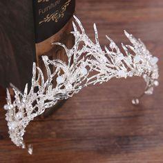 $11.23 - Bridal Wedding Crystal Flower Rattan Tiara Crown Rhinestone Hair Band Headband #ebay #Fashion