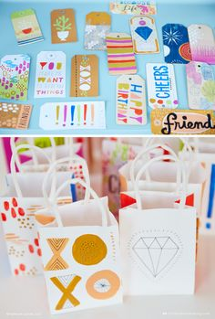 Think.Make.Share contributor Liz takes us behind the scenes of a giftwrap workshop with Hallmark artists. (A blog from the Creative Studios at Hallmark.)