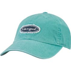 """This """"Life is Good"""" baseball hat. And all """"Life is Good"""" products."""