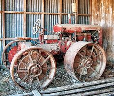 McCormick Tractor photographed in South Island New Zealand (2nd)